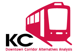 Downtown Corridor Alternatives Analysis graphic