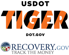 TIGER and Recovery.gov logos