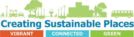 Creating Sustainable Places logo